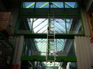 Glasfassadenreinigung
